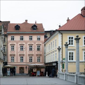 4-room apartment in old city of Ljubljana